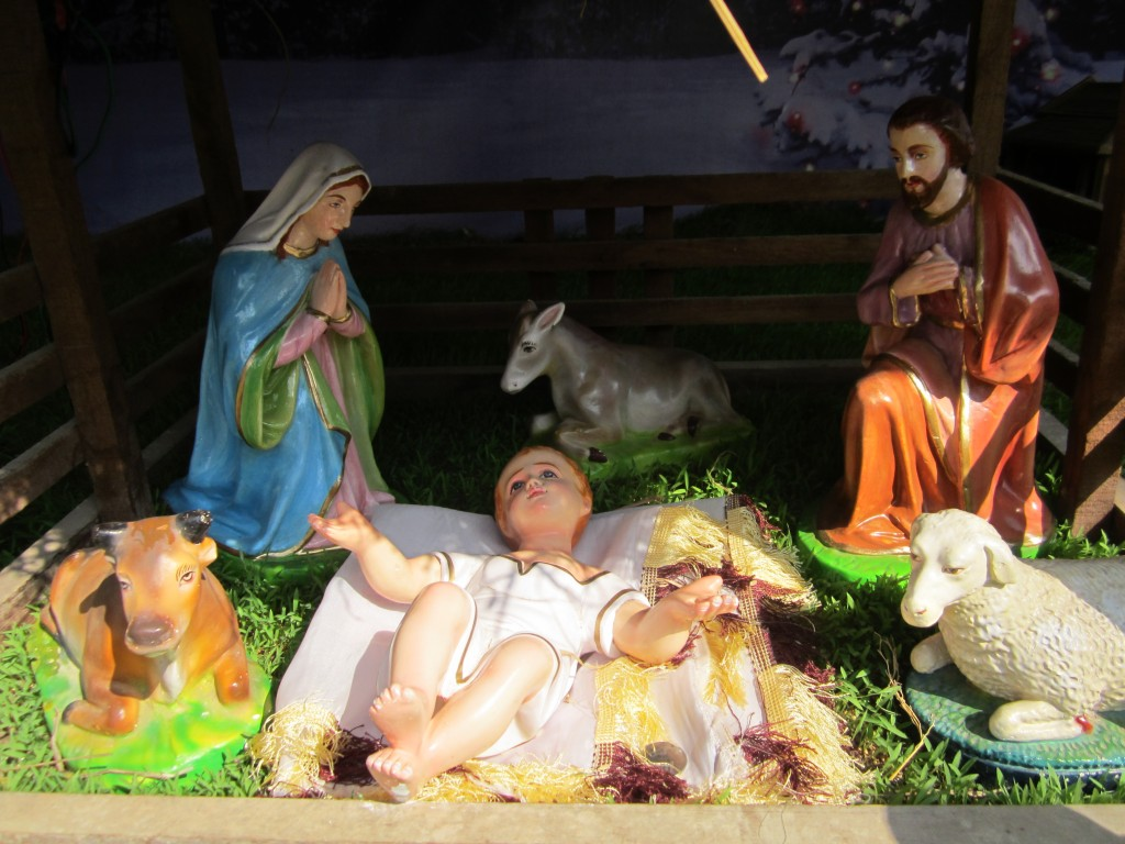 What a huge baby Jesus!